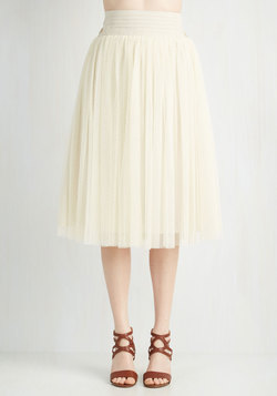 Patron Prestige Skirt in Cream