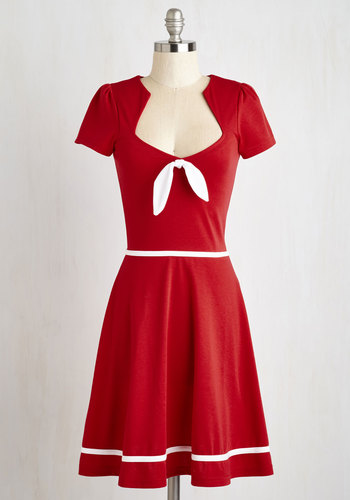 With a Bow On Top Dress $79.99 AT vintagedancer.com