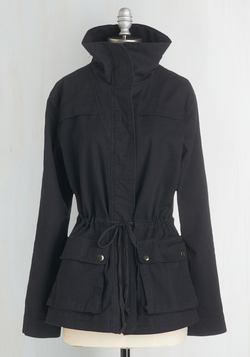 Escape Into Nature Jacket in Midnight