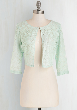 A Presh Start Jacket in Mint