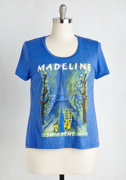 Novel Tee in Madeline - Plus Size