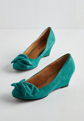 It's a Date! Wedge in Teal