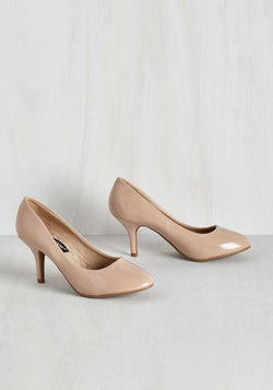 Boogie Downtown Heel in Beige