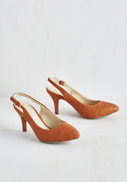 Slingback to the Basics Heel in Camel