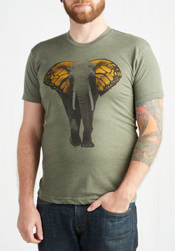 Butterfly Believe It Men's Tee