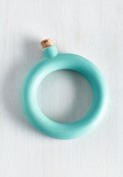 Bangle With an Angle Flask Bracelet