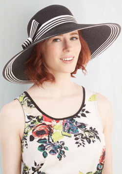 Style My Sunshine Hat in Black