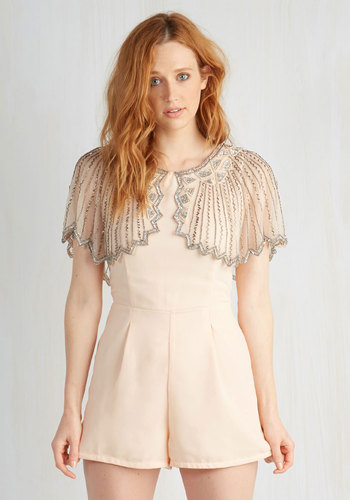 And the Shimmer Is Romper | Mod Retro Vintage Shorts