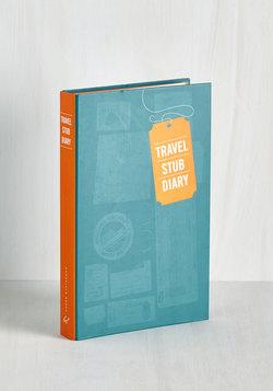 Memoir Montage Travel Stub Diary