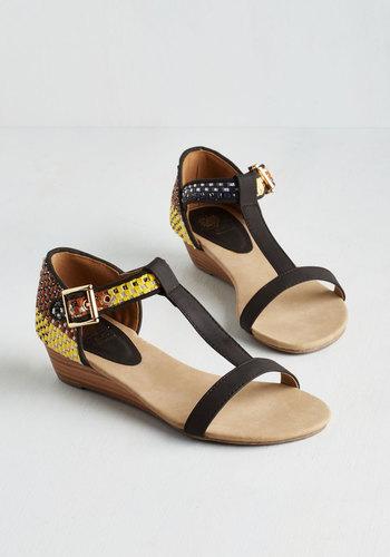 Weave Them Charmed Sandal