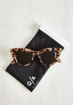 Big City Kitti Sunglasses in Tortoiseshell