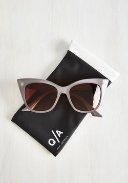 Modern Love Of My Life Sunglasses in Taupe