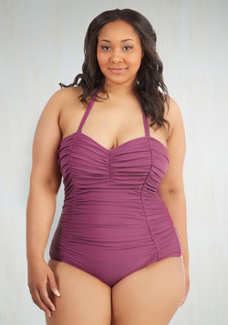Sublime After Time One-Piece Swimsuit in Plus Size