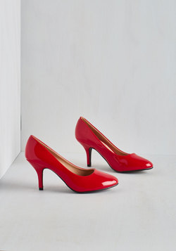 Boogie Downtown Heel in Red