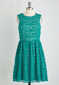 Perfect Dance Partner Dress in Shamrock