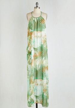 Calm Among the Palms Dress