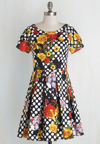 Darling Decoupage Dress