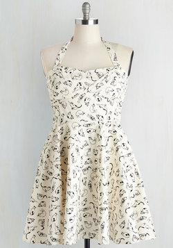 Traveling Cupcake Truck Dress in Cats