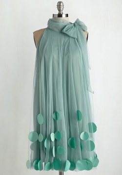 All Neutral Dress in Sage
