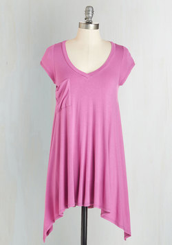 A Crush on Casual Tunic in Orchid