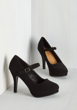 Timeless of My Life Heel in Black