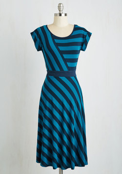 An Afternoon With You Dress in Blue