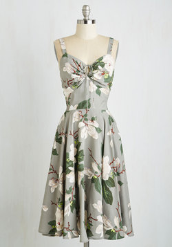 Magnolias in Motion Dress