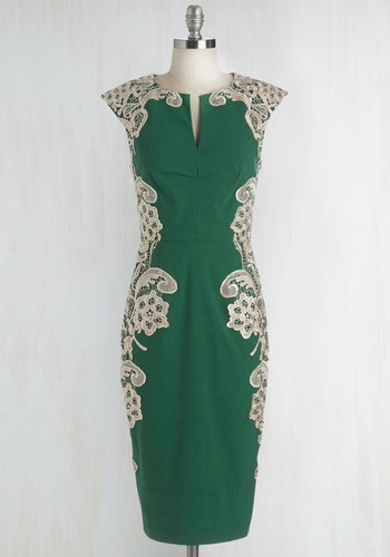 Lakeside Libations Dress in Evergreen $99.99 AT vintagedancer.com
