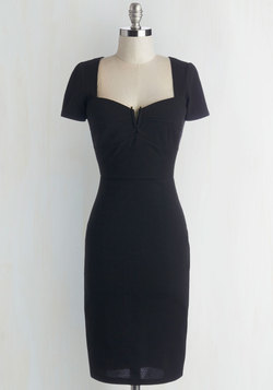All for Stun Dress in Black