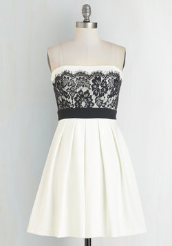 Obviously Adorable Dress in White