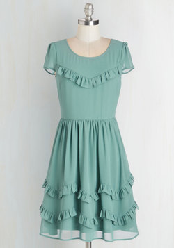 Delicate Fandangle Dress