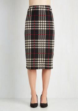 A Genuine and a Scholar Skirt