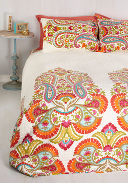 Think Lively of You Quilt Set in Full/Queen