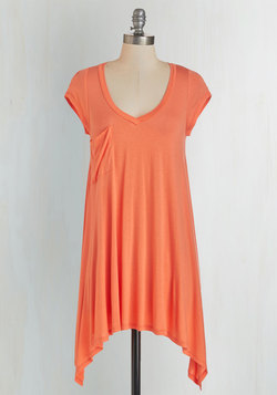 A Crush on Casual Tunic in Persimmon