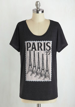 Postcard from Paris Tee