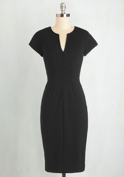 Enterprising Entrepreneur Dress in Black