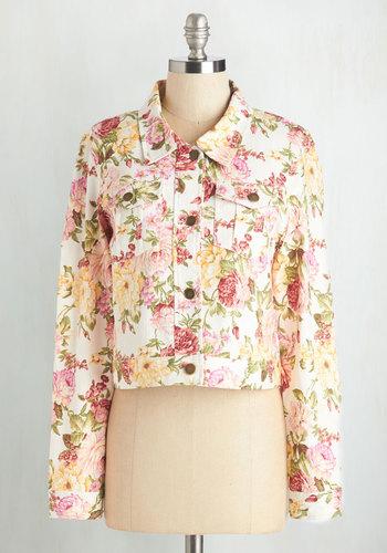 Rosy Garden Jacket