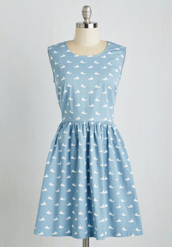 Whale Alrighty Then Dress