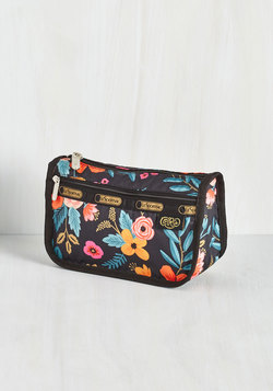 Flower Patch Things Up Makeup Bag