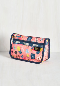 The Frill of Adventure Makeup Bag
