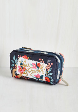 Flower Patch Things Up Pouch