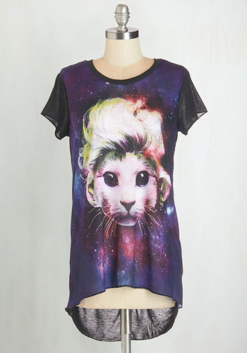 Cosmic Kitty Tee