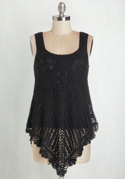 Share Thing Top in Black