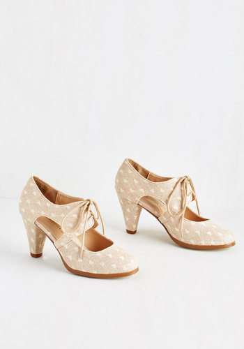 Sincerely Irresistible Heel in Peach