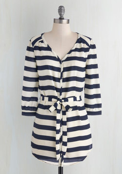 Patisserie Picks Tunic in Stripes