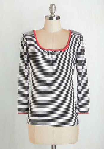 The Sweetest Sail Top in Monochrome