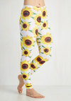 Fresh Take Leggings in Sunflowers