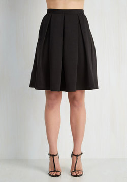 Adorably Yours Skirt in Black