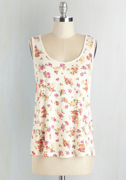 Pop of Pattern Top in Floral