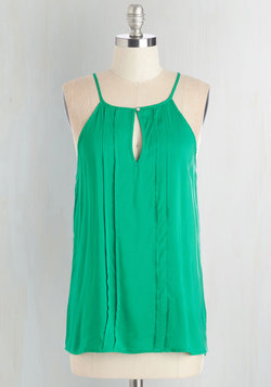 Style a Minute Top in Green